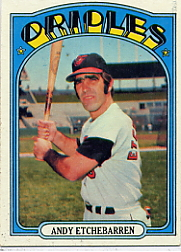 1972 Topps Baseball Cards      026      Andy Etchebarren